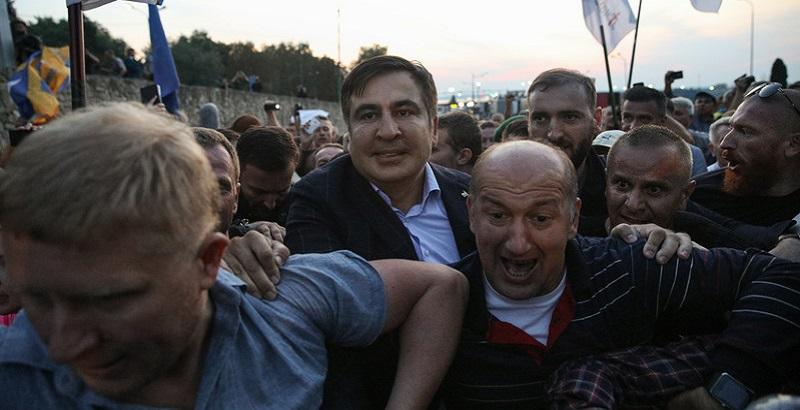 """Результат пошуку зображень за запитом """"саакашвили прорывает границу"""""""