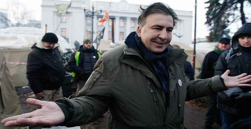 Image result for Сторонники Саакашвили ворвались в парламент фото